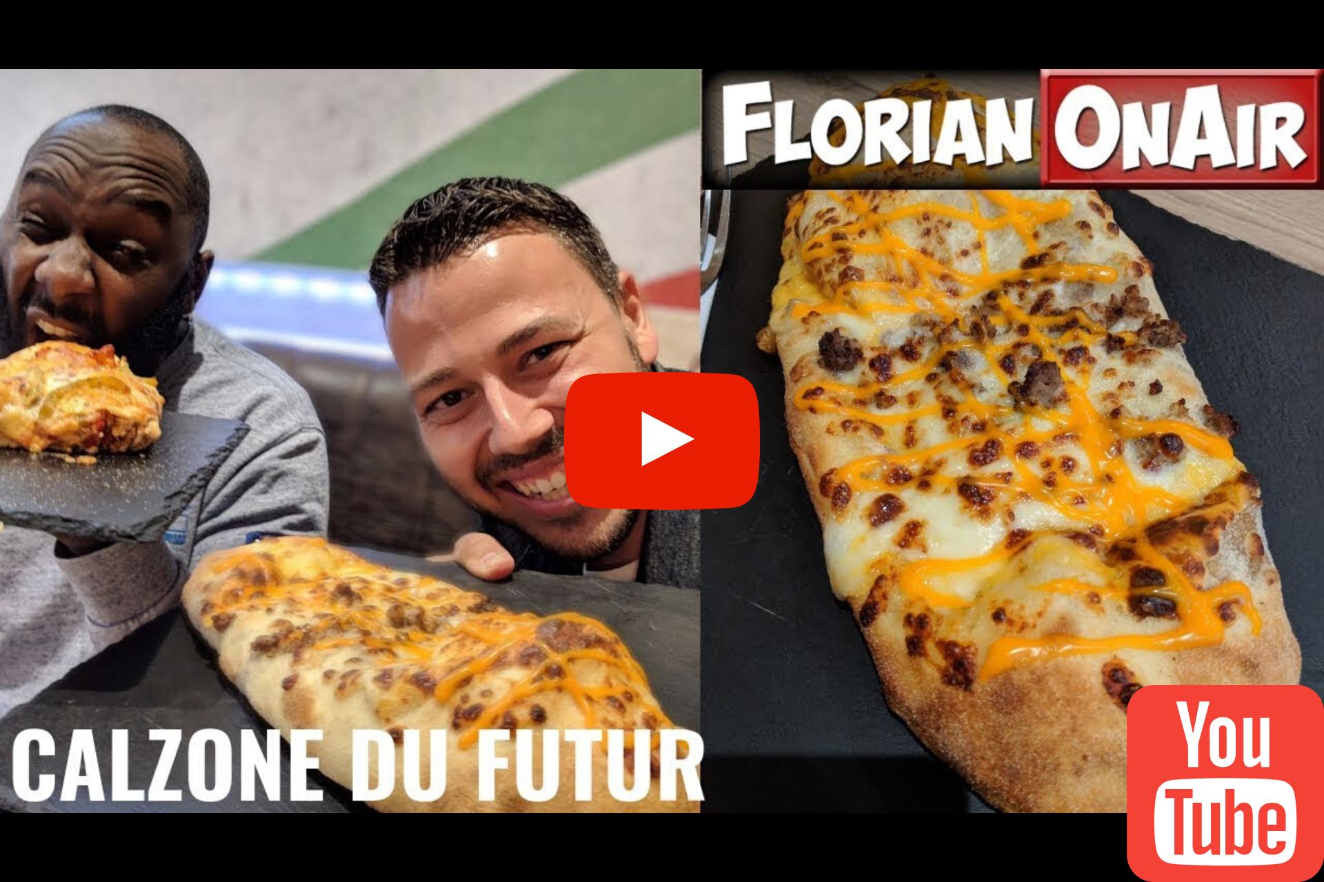 FlorianOnAir (605k abonnés sur Youtube) chez Don Calzone